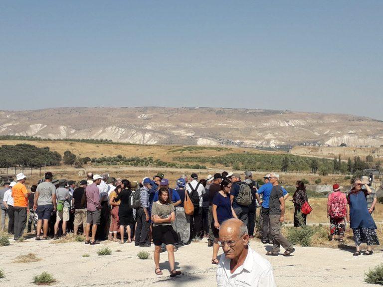 סיור בגשר הישנה- כנס עבר הירדן
